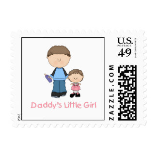 Daddy's Little Girl (2) Stamps