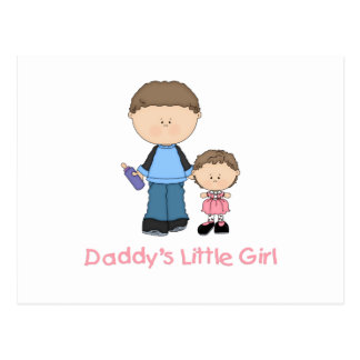Daddy's Little Girl (2) Postcards