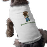 Daddy's Little Girl (3) Doggie Shirt