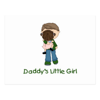 Daddy's Little Girl (3) Post Cards