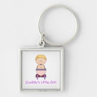 Daddy's Little Girl (5) Keychain