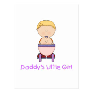 Daddy's Little Girl (5) Post Card