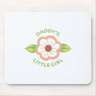 DADDYS LITTLE GIRL APPLIQUE MOUSE PAD