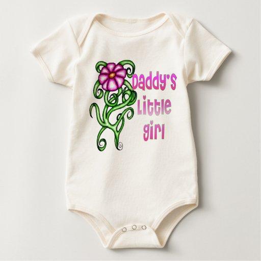 Daddys Little Girl Baby Bodysuit | Zazzle