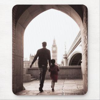 Daddy's Little Girl - Big Ben - London - Mousepad
