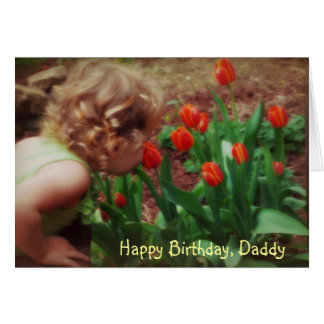 Daddy's Little Girl Birthday Card