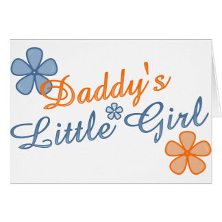 Daddy's Little Girl Cards