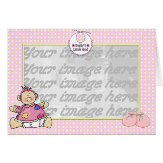 Daddy's Little Girl Card