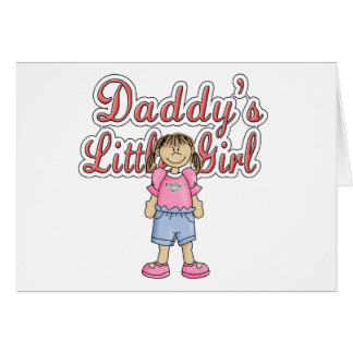 Daddy's Little Girl Greeting Cards