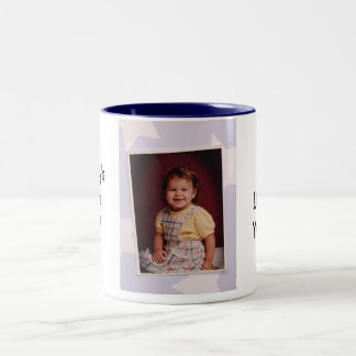 Daddy's Little Girl Cup! Two-Tone Coffee Mug