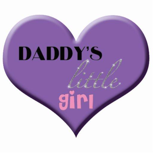 Daddy's Little Girl Cutout
