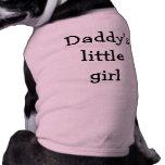 Daddy's little girl doggie tshirt