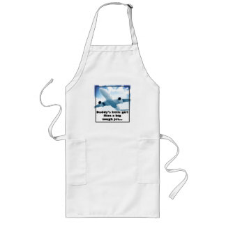 Daddy's Little Girl Flies a Big Tough Jet. Long Apron