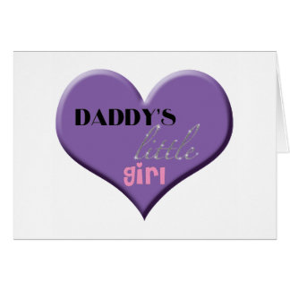 Daddy's Little Girl - Happy Father's Day Greeting Card