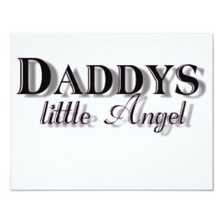 Daddy's Little Girl Personalized Invitations