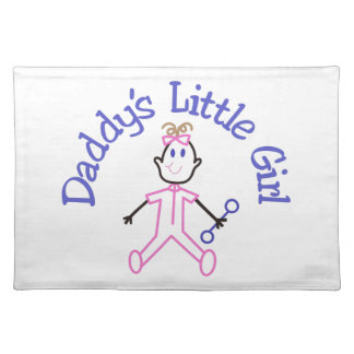 Daddys Little Girl Placemat