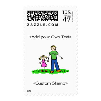 Daddy's Little Girl Postage (Blond)