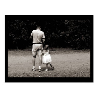 Daddy's Little Girl Postcard