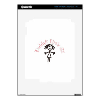 Daddy's Little Girl Skin For iPad 3