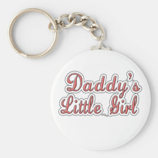 Daddy's Little Girl Text  Key Chain