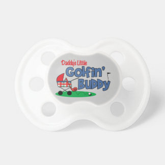 Daddy's Little Golfin' Buddy Baby Pacifiers