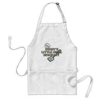 Daddy's Little Grill Sgt Apron