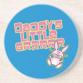 Daddy's Little Grrrrr Beverage Coaster