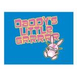 Daddy's Little Grrrrr Postcard