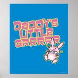 Daddy's Little Grrrrr Poster