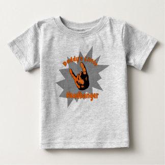 Daddy's Little Headbanger Baby T-Shirt