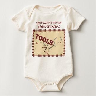 Daddy's Little Helper Baby Bodysuit