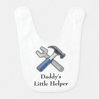 Daddy's Little Helper Bib