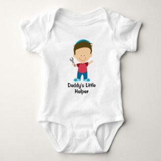 Daddy's Little Helper Boy Baby Bodysuit