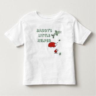 Daddy's little helper Lady bug cool hip custom Toddler T-shirt