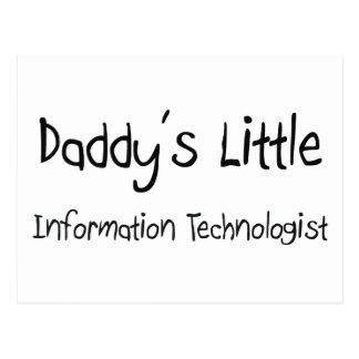 Daddy's Little Information Technologist Postcard