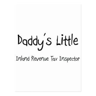 Daddy's Little Inland Revenue Tax Inspector Postcard
