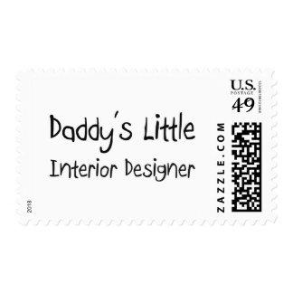 Daddy's Little Interior Designer Stamp
