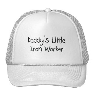Daddy's Little Iron Worker Hats