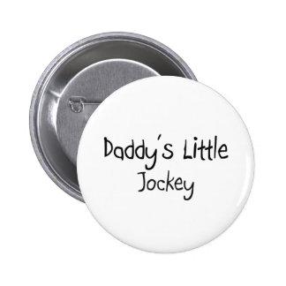 Daddy's Little Jockey Pinback Buttons
