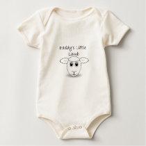 Daddy's Little Lamb Baby Bodysuit