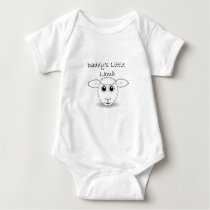 Daddy's Little Lamb Baby Bodysuit