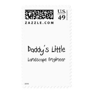 Daddy's Little Landscape Engineer Stamp