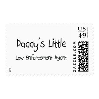Daddy's Little Law Enforcement Agent Stamp