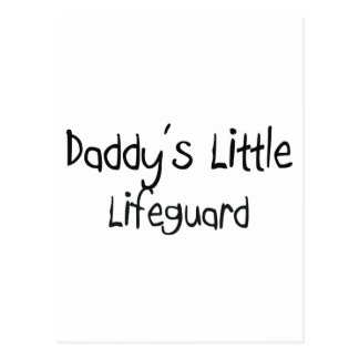 Daddy's Little Lifeguard Postcard