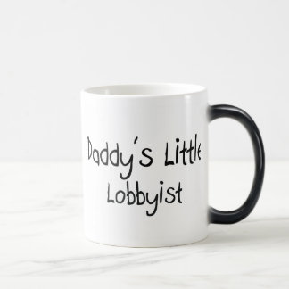 Daddy's Little Lobbyist Coffee Mugs