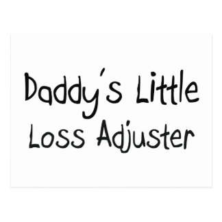 Daddy's Little Loss Adjuster Postcards