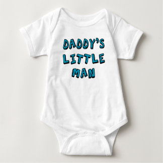 Daddy's Little Man baby   Baby Bodysuit