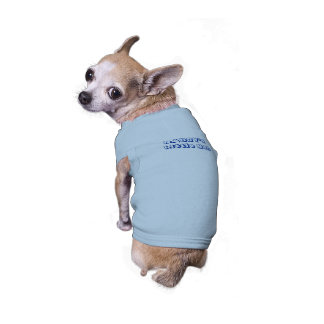 Daddy's Little Man Ribbed Doggy Shirt