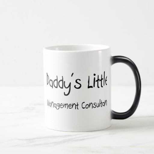 Daddy's Little Management Consultant 11 Oz Magic Heat Color-Changing Coffee Mug