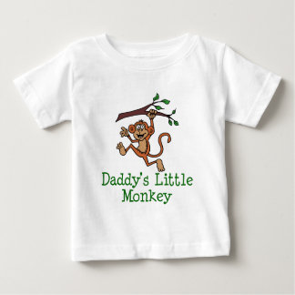 Daddy's Little Monkey Infant T-shirt